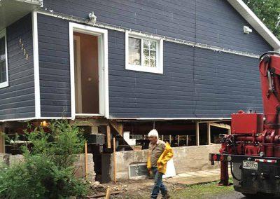 À quoi sert notre service d'étaiement de bâtiment et maison pour remplacement de fondation sur la Rive-Nord de Montréal et les Laurentides?